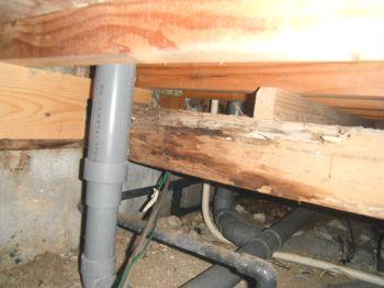 床下のホームインスペクション