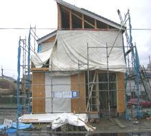 建築中のホームインスペクション