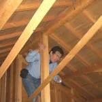 屋根裏のホームインスペクション