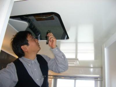 天井裏の目視診断