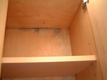 吊り戸棚のカビ